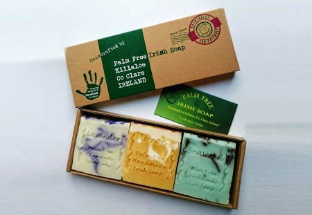 Gift Pack Of 3 Mixed Soaps