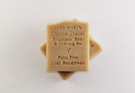 Thyme Travel Shampoo/Shaving Bar